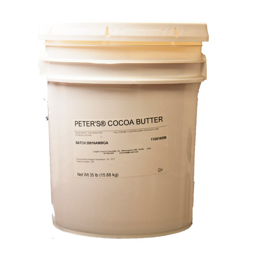 Peter's Y1237 Solid Cocoa Butter 35lb
