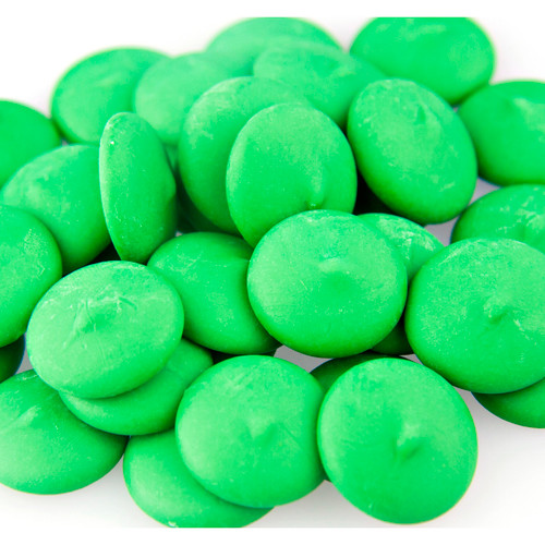 Coating Wafers, Dark Green 25lb