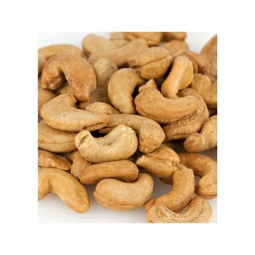 Whole Roasted No Salt Cashews 240ct 15lb