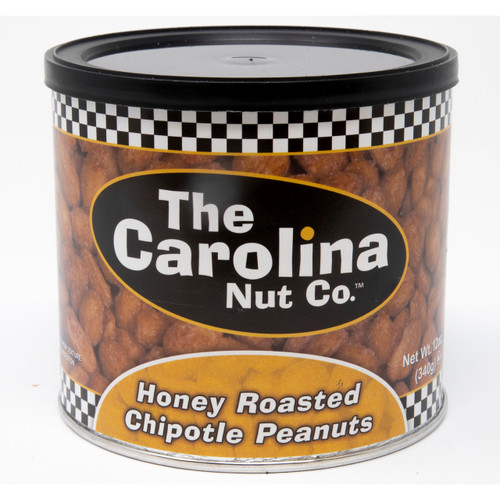 Honey Roasted Chipotle Peanuts 6/12oz
