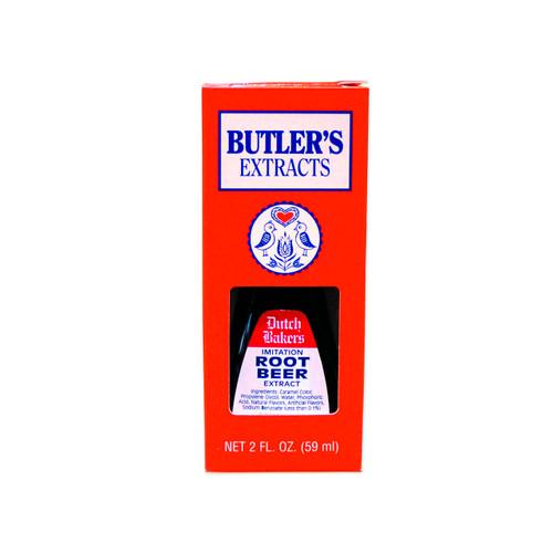 Butler's Root Beer Extract 12/2oz