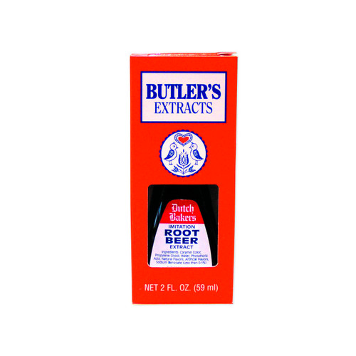 Butler's Root Beer Extract 12/2oz