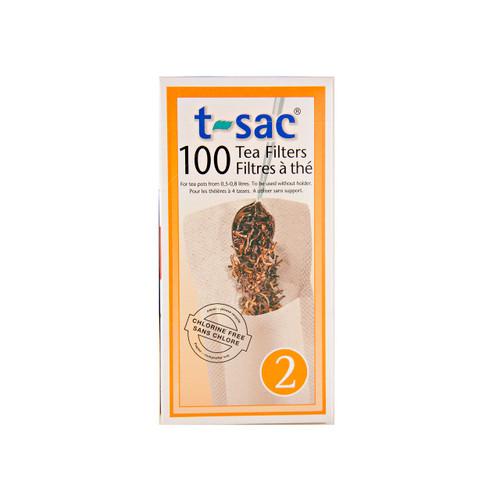 T-Sac Tea Filters #2 12/100ct