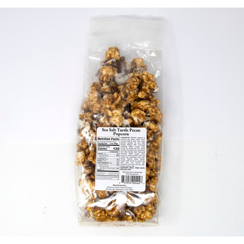 Sea Salt Turtle Pecan Popcorn 12/7oz