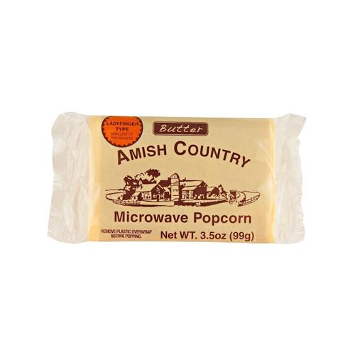 Ladyfinger Microwave Popcorn 6-10/3.5oz