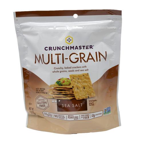 Multi-Grain Crackers, Sea Salt 12/4oz