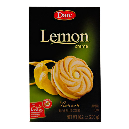 Lemon Creme Cookies 12/10.2oz