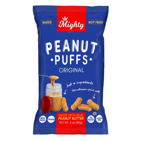 Mighty Peanut Puffs 12/3oz