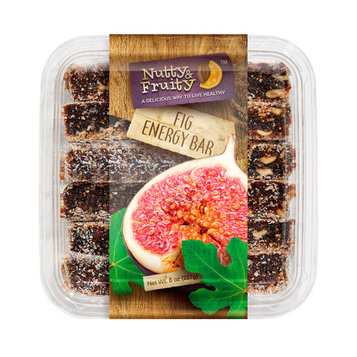 Energy Bars, Fig 10/8oz