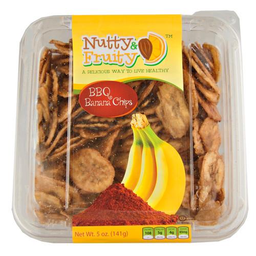 Banana Chips, Carmelized BBQ 6/5oz