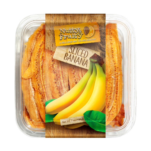 Dried Bananas, Long Slices 7/7oz