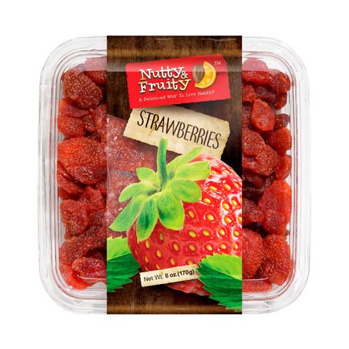 Dried Strawberries 10/6oz