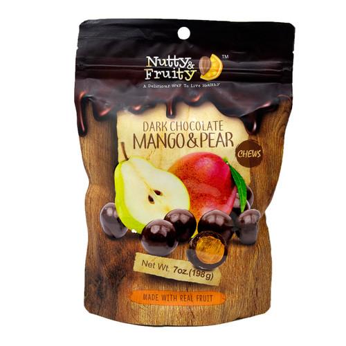 Dark Chocolate Mango Pear Chews 8/7oz