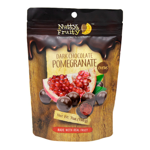 Dark Chocolate Pomegranate Chews 8/7oz