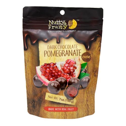 Dark Chocolate Pomegranate Chews 8/7oz