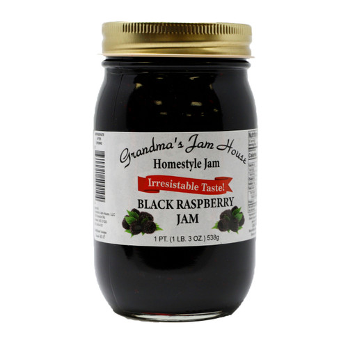 Black Raspberry Jam 12/16oz