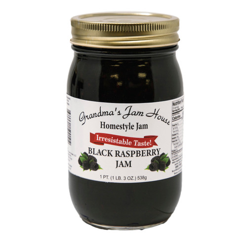 Black Raspberry Jam 12/16oz