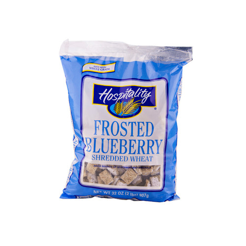 Frosted Blueberry Shredded Wheat 4/32oz