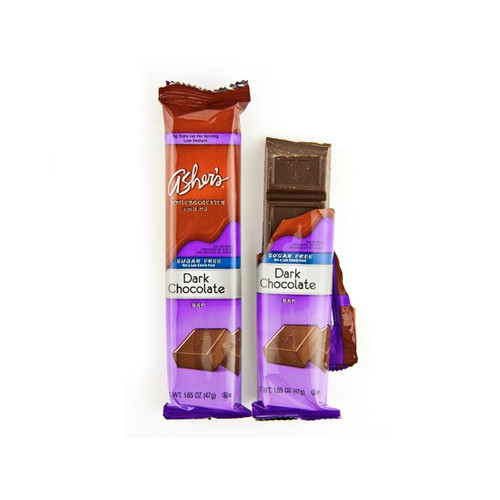 Sugar Free Dark Chocolate Bar 12ct