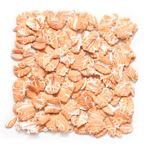 Organic Red Rolled Wheat Flakes 50lb
