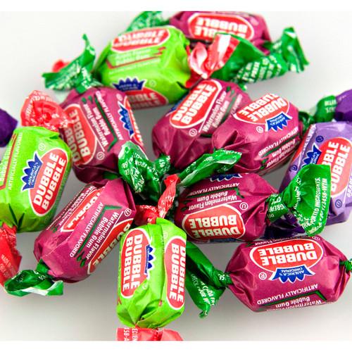 Dubble Bubble 3-Flavor Gum 25lb
