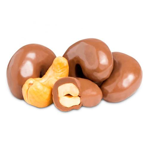 Milk Chocolate Cashews 10lb