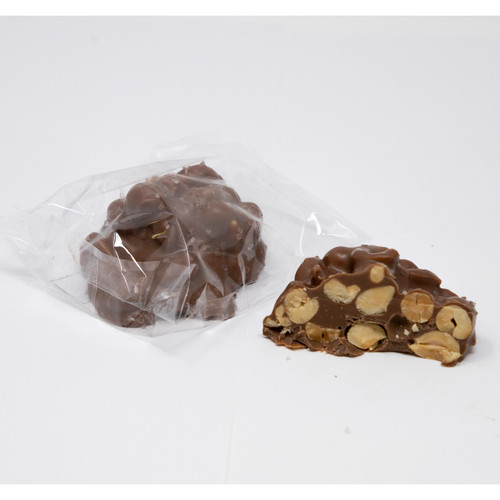 Milk Chocolate Sea Salt Peanut Clusters 24ct