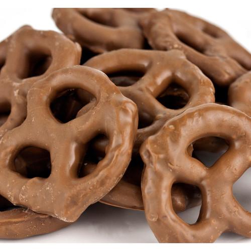 Milk Chocolate Mini Pretzels 15lb
