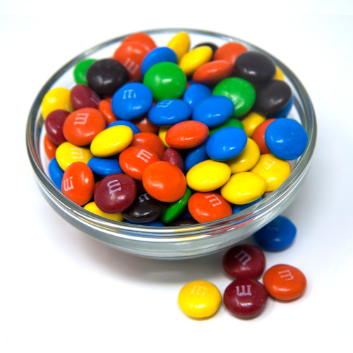 M&M'S Milk Chocolate Candies 25lb