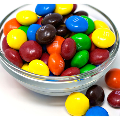 M&M'S Chocolate Candies, Peanut Butter 25lb