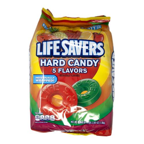 5 Flavor Life Savers Candy 6/50oz