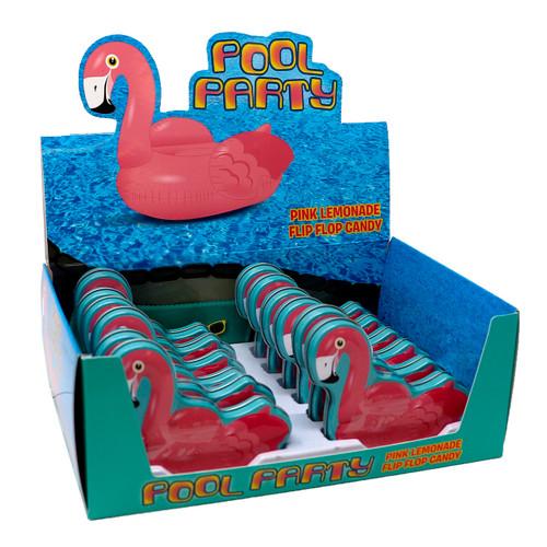 Flamingo Pool Party Tins 12ct