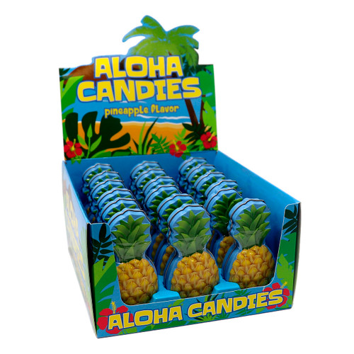 Pinneapple Aloha Tins 18ct