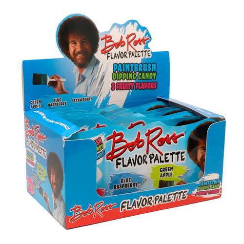 Bob Ross Flavor Palette Dipping Candy 18ct
