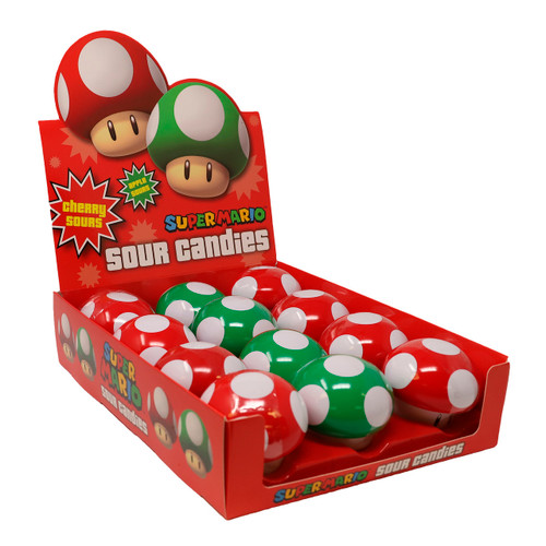 Nintendo Mushroom Sours 12ct
