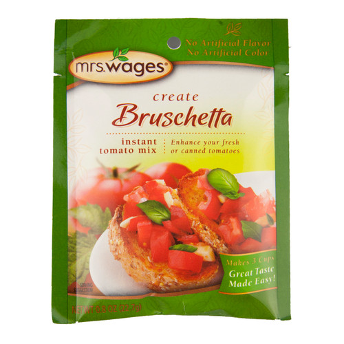 Bruschetta Seasoning Mix 12/0.8oz