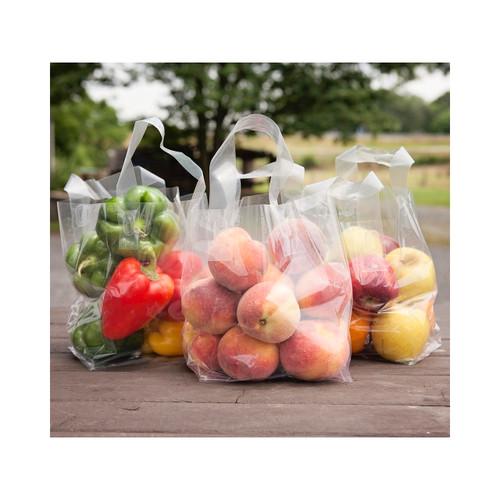 Loop Handled Fruit & Veggie Bags 6.75x4.75x8.5 200ct