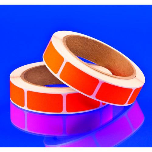 Blank Orange Labels 1000ct