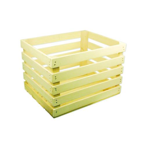 """Half Bushel Wood Crate, 15""""x11""""x10"""" 1ea"""