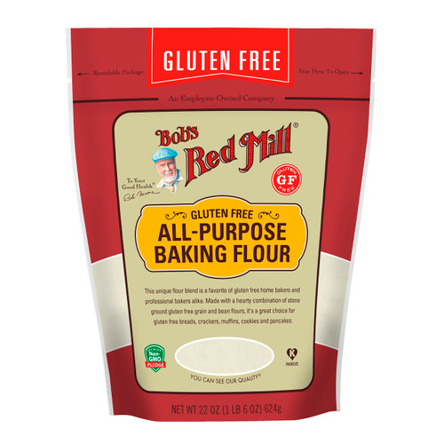 Gluten Free All Purpose Baking Flour 4/22oz