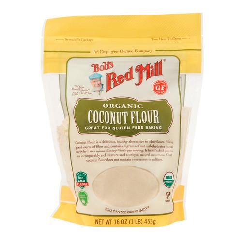 Gluten Free Organic Coconut Flour 4/16oz