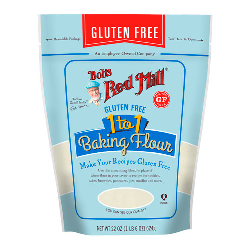 Gluten Free 1 to 1 Baking Flour 4/22oz