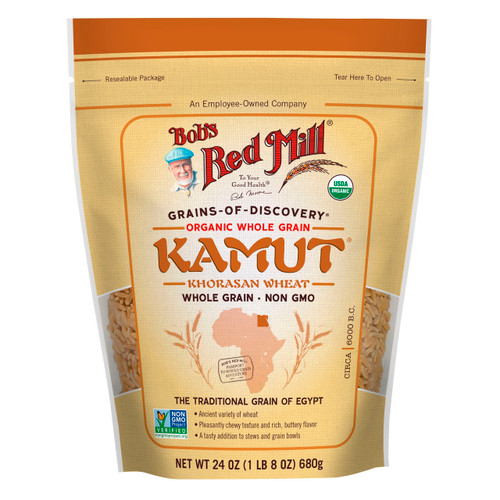 Organic Kamut Grain 4/24oz