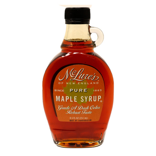 Grade A Dark Color Robust Taste Maple Syrup 12/8.5oz View Product Image