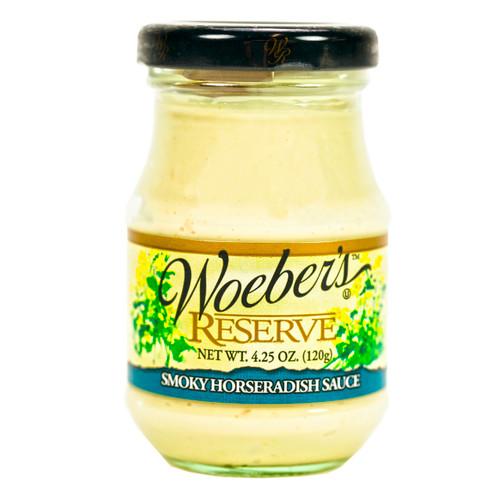 Smokey Horseradish Mustard 6/5oz