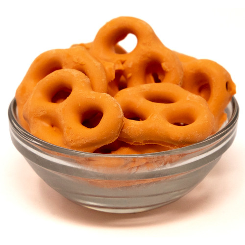 Pumpkin Spice Yogurt Coated Pretzels 15lb