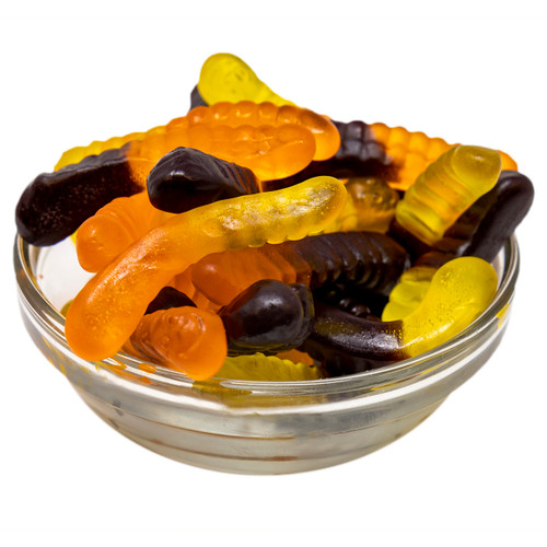 Fall Gummi Worms 4/5lb