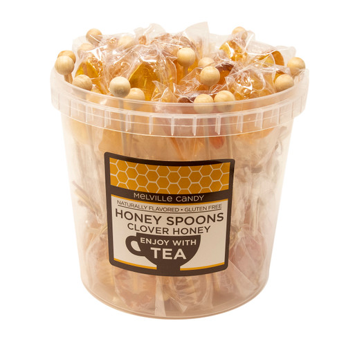 Clover Honey Spoons Bucket 50ct