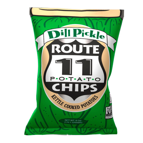 Dill Pickle Chips 12/6oz