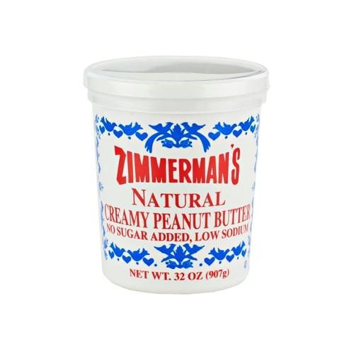 6/32oz Natural Peanut Butter
